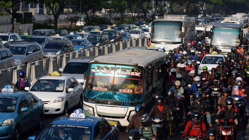 Dân số của Jakarta, thủ đô của Indonesia, được dự báo sẽ đạt 35,6 triệu người vào năm 2030.