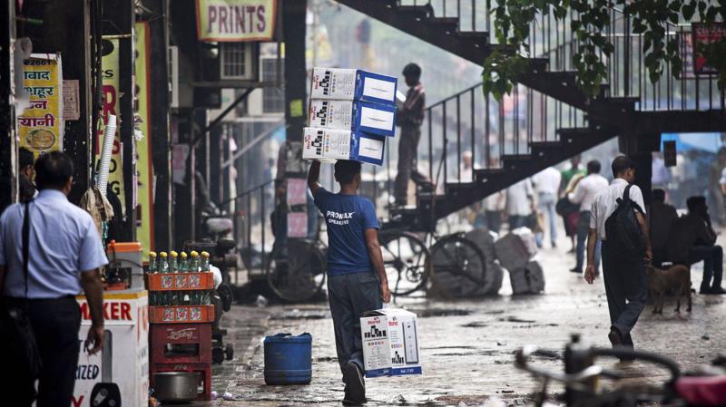 Quý 2 năm nay đánh dấu quý giảm tốc thứ 5 liên tục của kinh tế Ấn Độ, với mức tăng 5%, yếu nhất từ quý 1/2013 - Ảnh: Getty Images,
