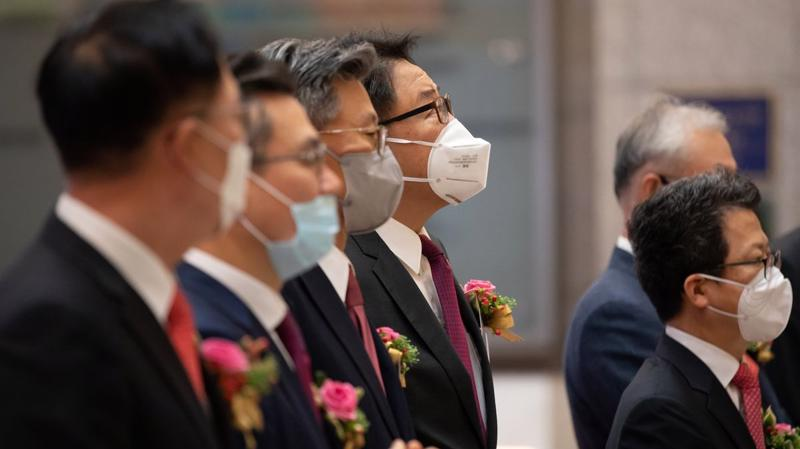207 nhân viên SK Biopharmaceuticals được nhận cổ phiếu khi công ty IPO. Ảnh: Yonhap.