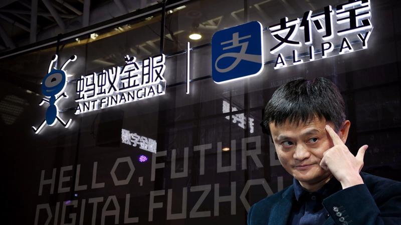 Ant hiện được kiểm soát bởi người đồng sáng lập Alibaba - Jack Ma với 33% cổ phần. Ảnh: China Daily/Reuters.
