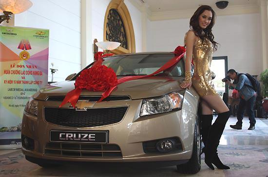 Tại Hàn Quốc, Chevrolet Cruze LS có tên Daewoo Lacetti Premiere 2010 - Ảnh: Đức Thọ.