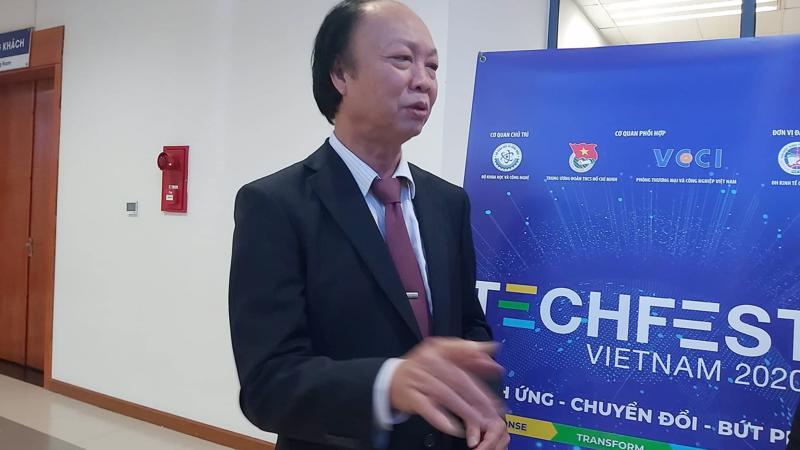 Chủ tịch Câu lạc bộ VDI Nguyễn Đình Thắng.