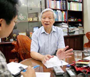 Chủ tịch Hội đồng Quản trị ACB Trần Xuân Giá - Ảnh: Trường Sơn.