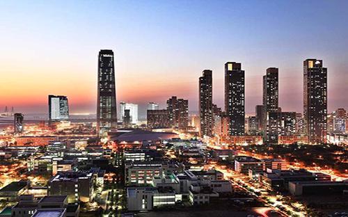Thành phố thông minh Songdo của Hàn Quốc - Ảnh: Business Insider.