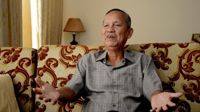 Ông Trương Vĩnh Trọng sinh năm 1942, tại tỉnh Bến Tre.