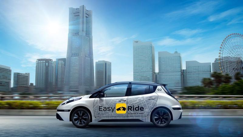 Taxi không người lái của Nissan và DeNA - Ảnh: Nissa.