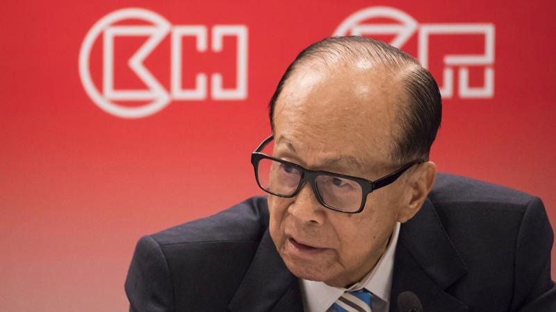Ông Lý Gia Thành (Li Ka-shing), người giàu nhất Hồng Kông - Ảnh: Bloomberg.
