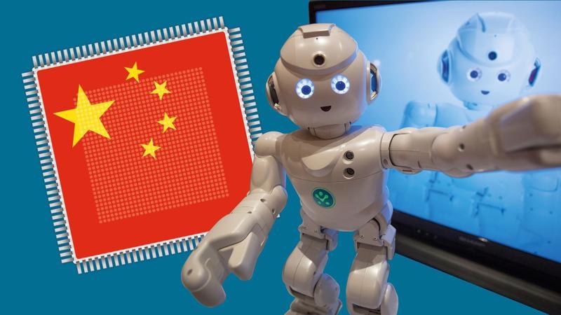 """Trung Quốc tham vọng dẫn đầu thế giới trong các lĩnh vực như robot, ôtô điện với kế hoạch """"Made in China 2025"""" - Ảnh: Financial Times."""