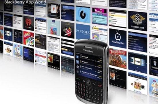 Kho ứng dụng dành cho điện thoại BlackBerry của RIM hiện có hơn 35.000 phần mềm.
