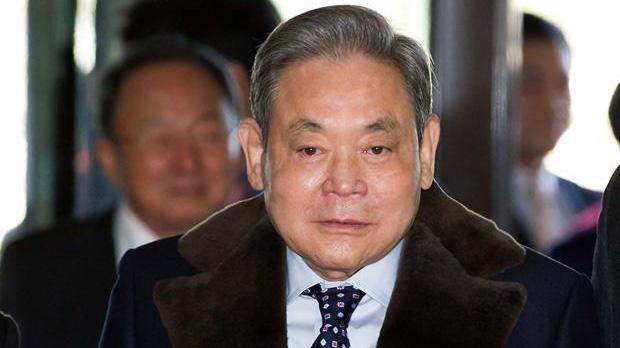 Ông Lee Kun Hee, chủ tịch tập đoàn Samsung - Ảnh: Yonhap.