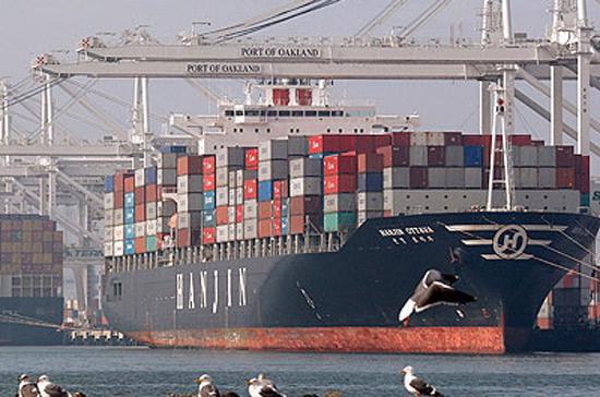 Thương mại toàn cầu đã sụt giảm 20% giá trị trong giai đoạn khủng hoảng tài chính - Ảnh: BI.