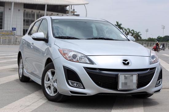 có tổng cộng 494.461 xe Mazda3 (tên gọi khác là Axela ở Nhật Bản) được triệu hồi - Ảnh: Bobi.
