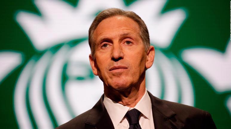 Howard Schultz - cựu CEO, cựu chủ tịch của Starbucks - Ảnh: AP.