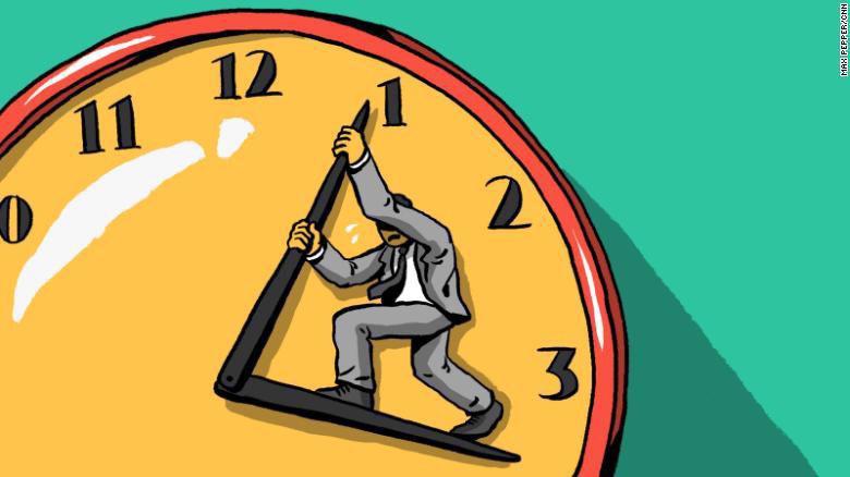 Trung bình các CEO làm việc 62,5 giờ mỗi tuần.