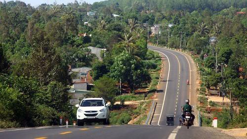 Đường Hồ Chí Minh khu vực Tây Nguyên dài khoảng 553 km, đã hoàn thành toàn bộ.