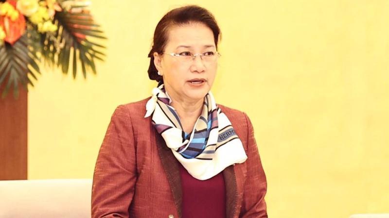 Chủ tịch Quốc hội Nguyễn Thị Kim Ngân - Ảnh: TTXVN