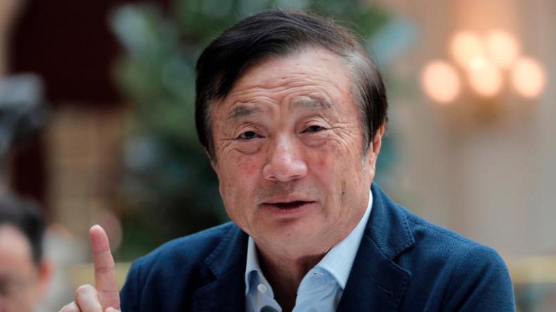 Ren Zhengfei - người sáng lập Huawei - Ảnh: CNN.