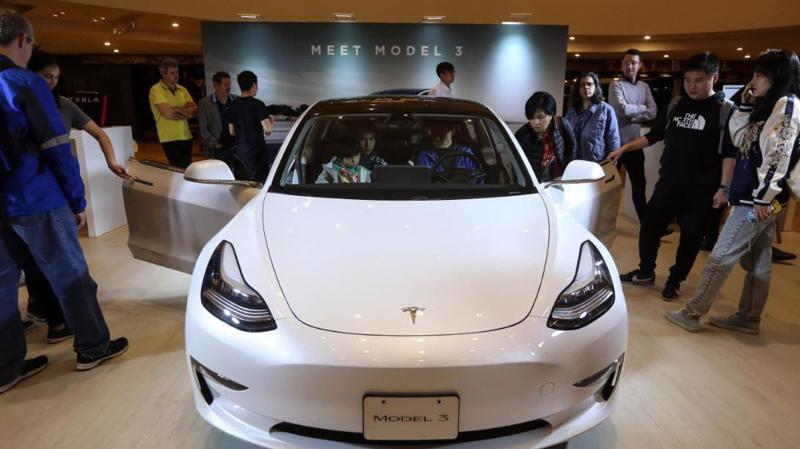 Model 3 hiện là dòng xe bán chạy nhất của Tesla - Ảnh: Getty Images.