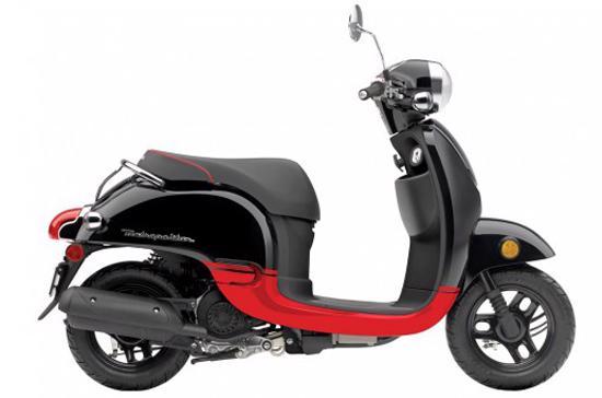 Honda Metropolitan khá phù hợp với vóc dáng của người Á Đông - Ảnh: Bikeland.