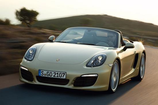 Porsche Boxster 2013 chính thức đến Việt Nam vào dịp triển lãm ôtô VAMA năm nay - Ảnh: Marc Urbano.