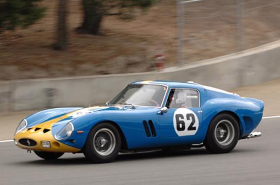Siêu xe Ferrari 250 GTO trước khi gặp nạn hôm 6/7.