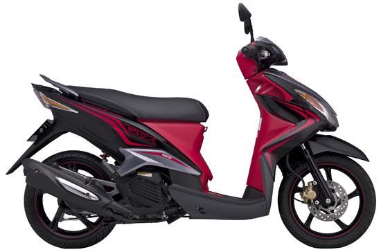 So với thế hệ cũ, Luvias mới giữ nguyên thiết kế cùng trang bị động cơ - Ảnh: Yamaha Việt Nam.