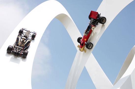 Goodwood 2012 quy tụ hàng trăm mẫu xe thể thao trên toàn thế giới - Ảnh: GTSpirit.