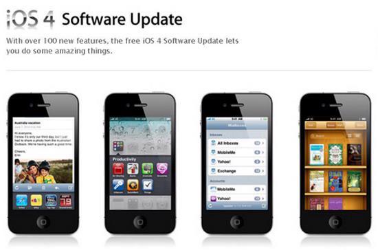 iOS 4 có nhiều tính năng mới.