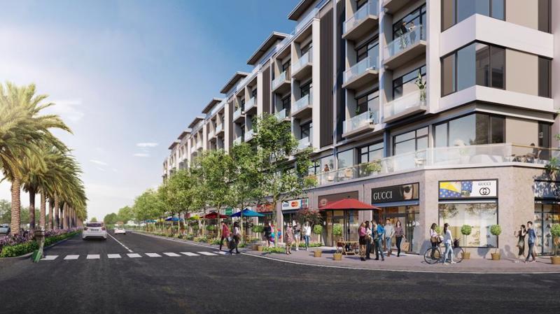 Dự án Khu đô thị Vườn Sen tại thị xã Từ Sơn, Bắc Ninh hiện là một trong những dự án thu hút lượng lớn nhà đầu tư quan tâm với các sản phẩm đất nền, shophouse.