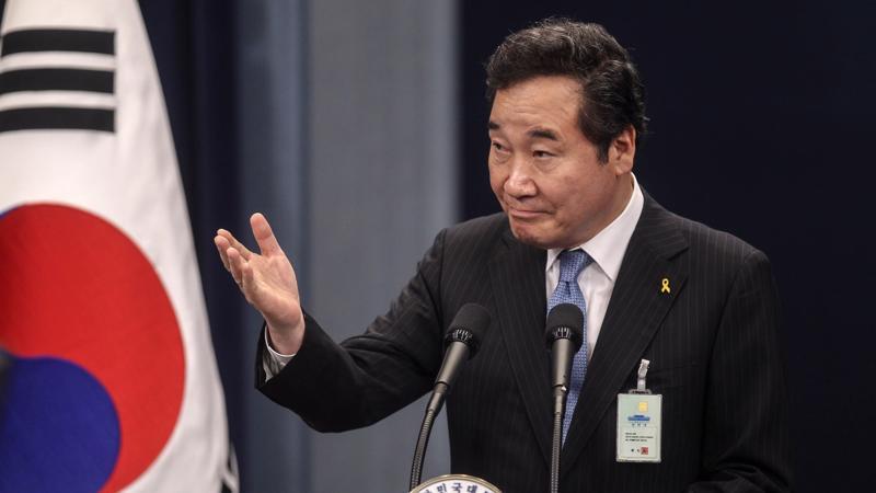 Thủ tướng Hàn Quốc Lee Nak-yeon - Ảnh: Bloomberg.
