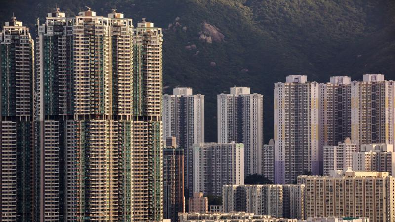 Hồng Kông là thành phố có nguy cơ bong bóng giá bất động sản lớn nhất thế giới - Ảnh: Bloomberg.