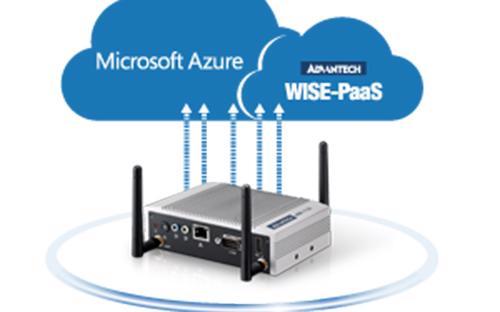 Bộ giải pháp nâng cao Advantech IoT Gateway Starter Kit được đồng phát triển bởi Intel® và Microsoft®.