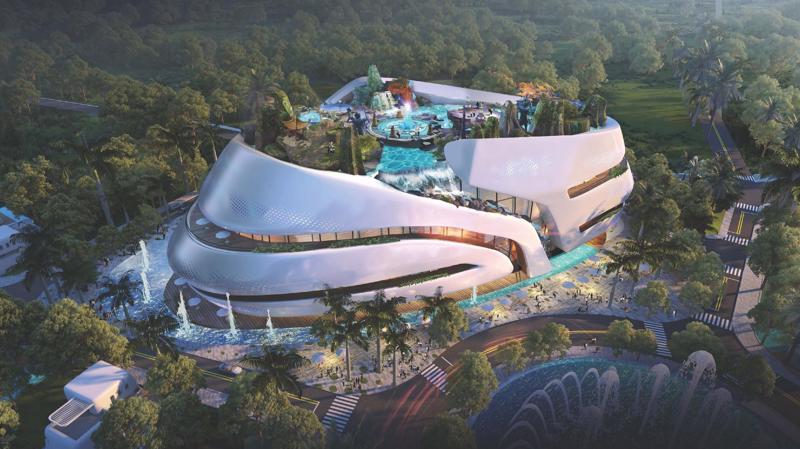 Sunshine Heritage của Sunshine Group sẽ góp phần giúp Hà Nội khai thác tốt tiềm năng kinh tế đêm, trở thành điểm hút khách trong và ngoài nước vui chơi, trải nghiệm, tận hưởng.