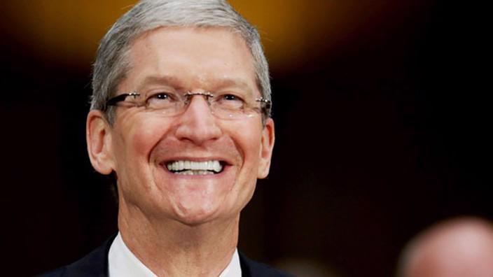 Giám đốc điều hành (CEO) Tim Cook của Apple.