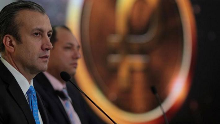 Phó tổng thống Venezuela, ông Tareck El Aissamii, trong một cuộc họp ở Caracas ngày 6/3 - Ảnh: Reuters.