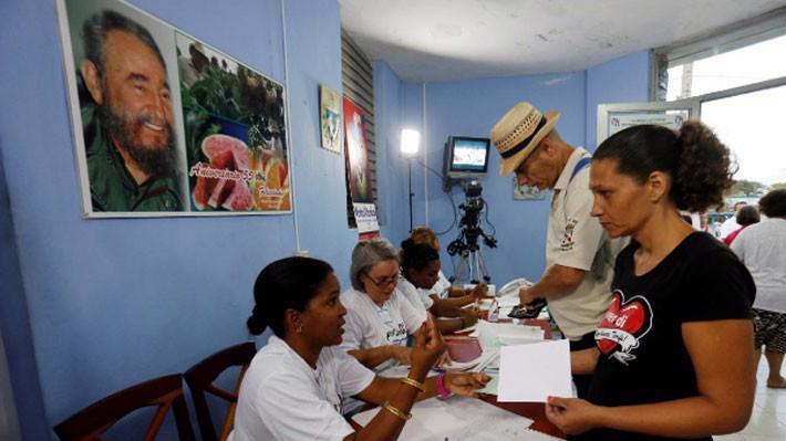 Dự kiến có 8 triệu cử tri Cuba trong cuộc bầu cử lần này, và tỷ lệ đi bầu có thể đạt 85% như thường thấy trong các cuộc bỏ phiếu trước đây - Ảnh: Reuters.