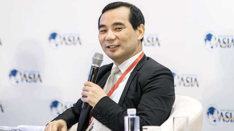 Ông Wu Xiaohui, Chủ tịch hãng bảo hiểm Trung Quốc Anbang - Ảnh: Bloomberg.
