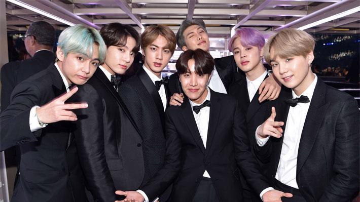 BTS là nhóm nhạc nam nổi tiếng nhất thế giới hiện nay.