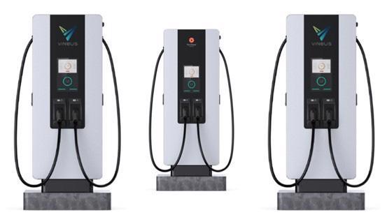Concept trạm sạc điện của Star Charge cung cấp cho VinBus.