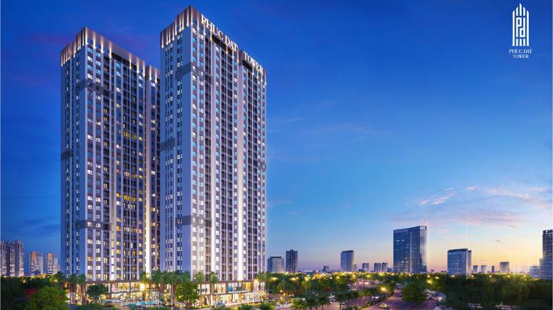 Phuc Dat Tower sở hữu vị trí tâm điểm cửa ngõ đại lộ Phạm Văn Đồng nối dài.
