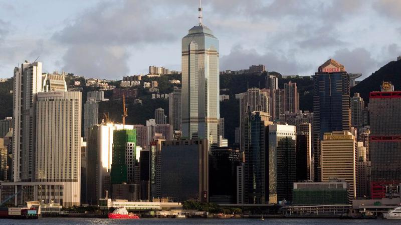 Một góc Hồng Kông - Ảnh: Bloomberg.