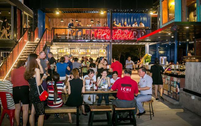 Một nhà hàng thuộc tổ hợp giải trí Cocobay Đà Nẵng.<br>