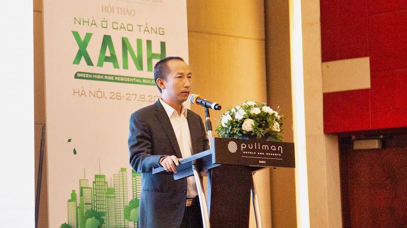 Ông Đỗ Đức Đạt – Chủ tịch Hội đồng Quản trị Tập đoàn Capital House cam kết 100% các dự án cao tầng tiếp theo của tập đoàn sẽ đạt tiêu chuẩn xanh EDGE.
