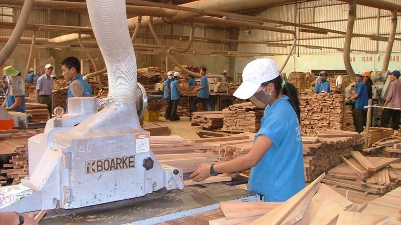 Xuất khẩu của ngành gỗ vào Mỹ đạt 4 tỷ USD nhưng ở mảng gỗ chế biến, doanh nghiệp Việt Nam chỉ chiếm 43%