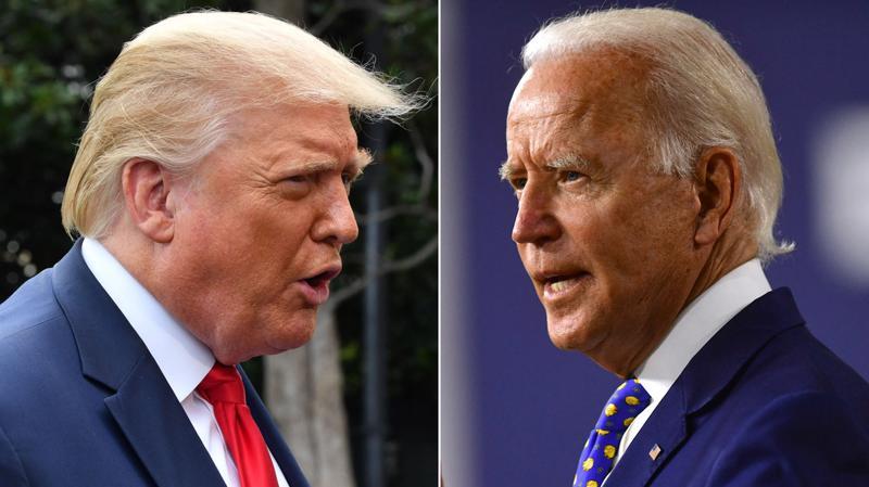 Ông Trump và ông Biden - Ảnh: Getty Images.