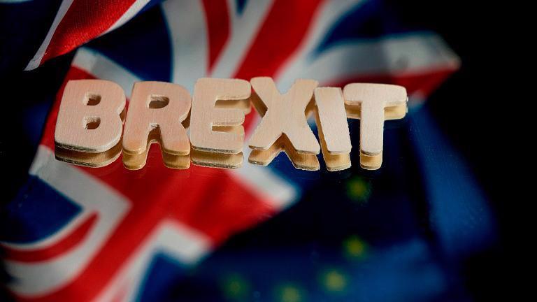 Brexit không thỏa thuận - còn gọi là Brexit cứng - có thể kéo dài cuộc suy thoái kinh tế tồi tệ nhất 300 năm của Anh - Ảnh: Getty Images