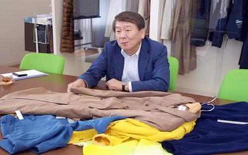 Ryuji Yoshioka, Chủ tịch của Daiichi Orimono - Ảnh: Nikkei.<br>