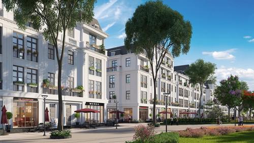 Boutique House với thiết kế 2 mặt tiền, tối ưu hóa công năng mang đến cơ hội kinh doanh tiềm năng và an cư cho cư dân.