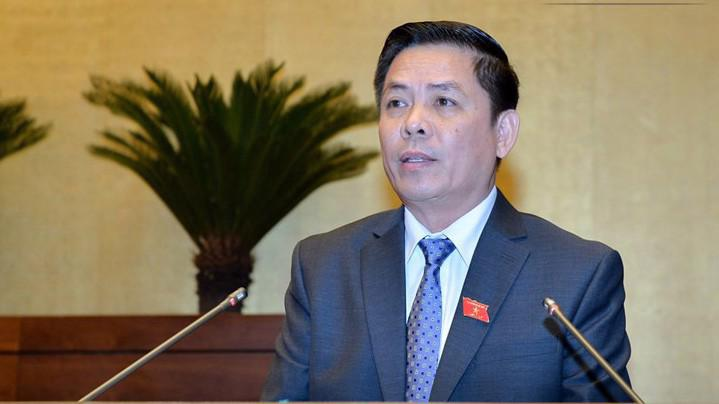Bộ trưởng Bộ Giao thông vận tải Nguyễn Văn Thể.