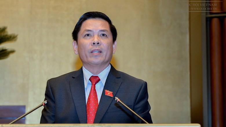 Bộ trưởng Bộ Giao thông vận tải Nguyễn Văn Thể nằm trong danh sách dự kiến trả lời chất vấn trước Quốc hội tại kỳ hop này.